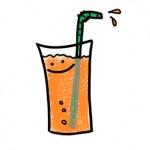 コンビニに売っている果汁100%ジュースの糖分は大丈夫?