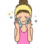 乾燥しない洗顔方法